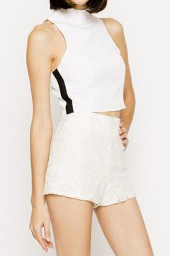 Naven White Crop Top - Alternate List Image