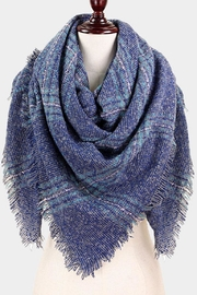 TIGERLILY Navy Blanket Scarf - Product Mini Image