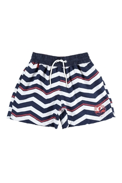 Shoptiques Product: Navy-Blue 'Boris' Swimshorts