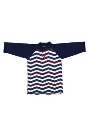 Archimede Navy-Blue 'Boris' Top - Front cropped