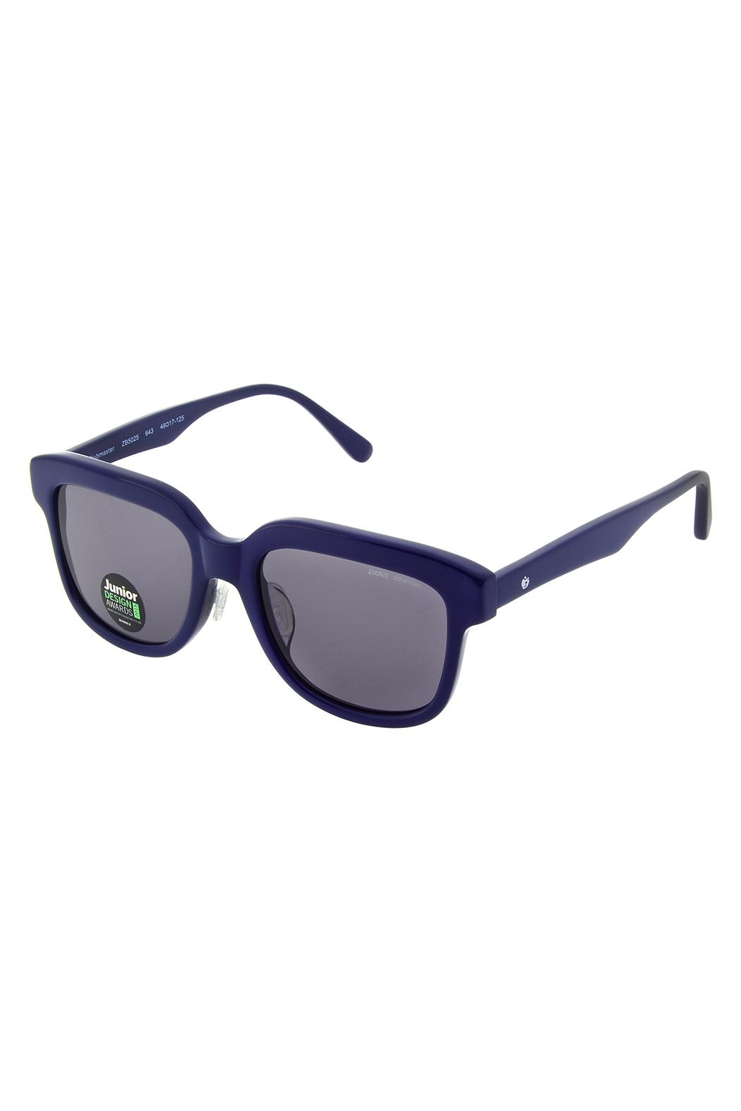 ZooBug Navy-Blue Clubmaster Sunglasses - Front Cropped Image