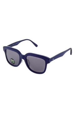Shoptiques Product: Navy-Blue Clubmaster Sunglasses