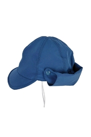 Archimede Navy-Blue 'Cocon' Cap - Front full body