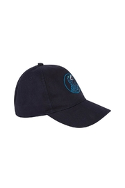 Paul Smith Junior Navy-Blue 'Dino' Cap - Side cropped