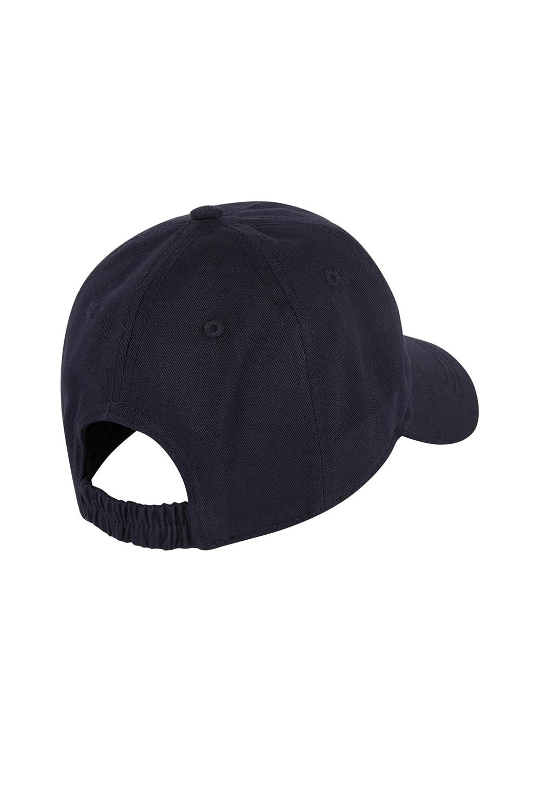 Paul Smith Junior Navy-Blue 'Dino' Cap - Front Full Image