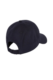 Paul Smith Junior Navy-Blue 'Dino' Cap - Front full body