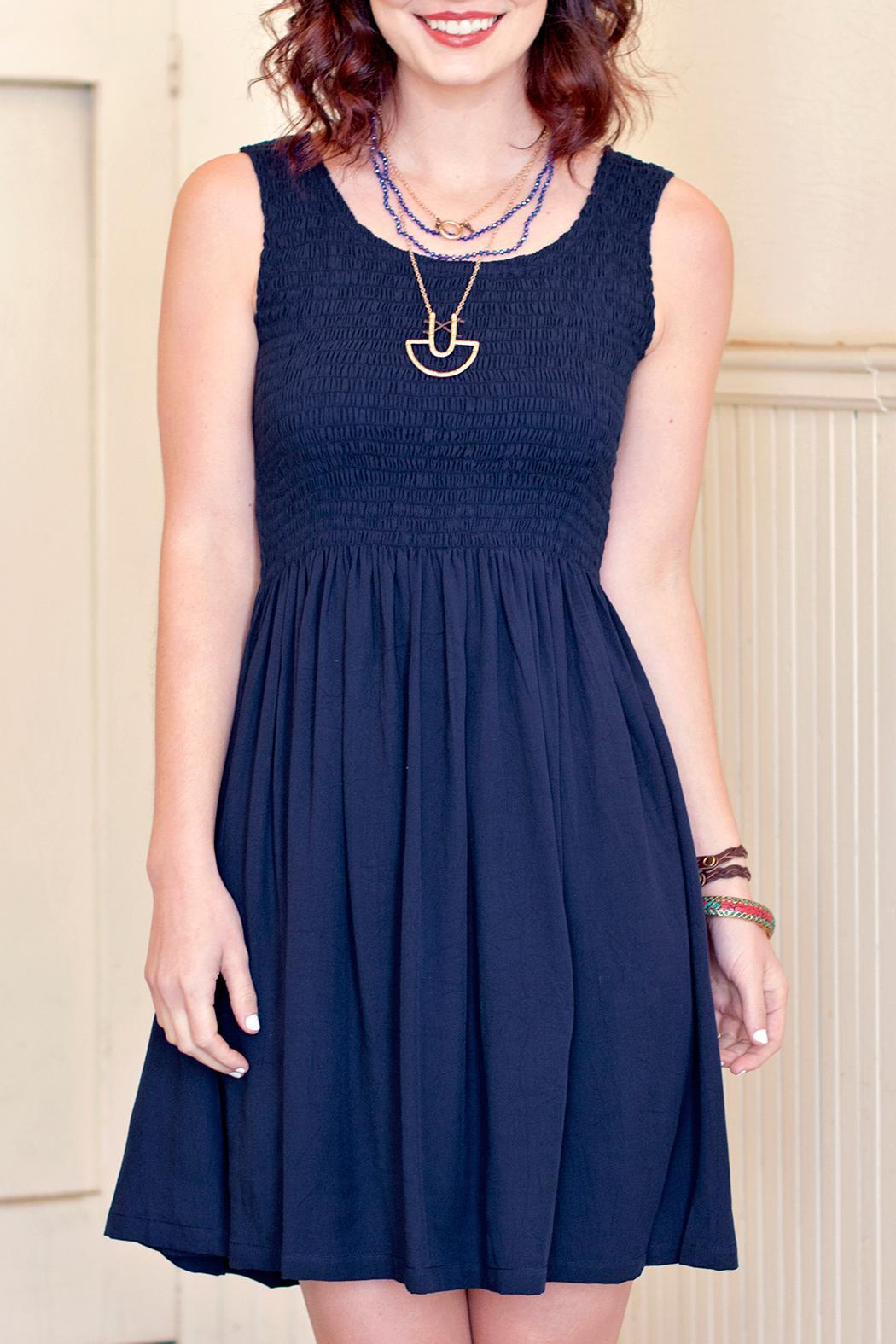 Go fish clothing navy blue dress from florida by go fish for Go fish clothing