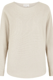 Apricot Clean Look Batwing Sweater Top - Front cropped