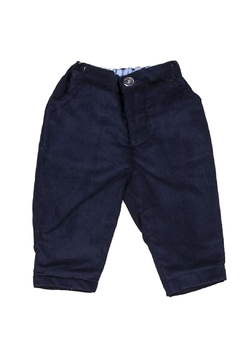 Shoptiques Product: Navy Cord Trousers.