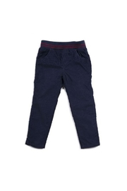 Egg  by Susan Lazar Navy Corduroy Pant - Product Mini Image