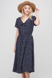 Les Amis Navy Dainty-Dots Dress - Other