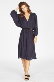 Knot Sisters Navy Dress - Product Mini Image