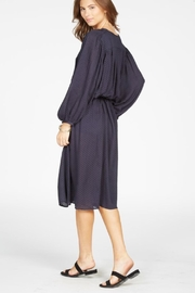 Knot Sisters Navy Dress - Front full body