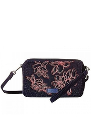 Vera Bradley Navy Embroidered All-In-One - Product Mini Image