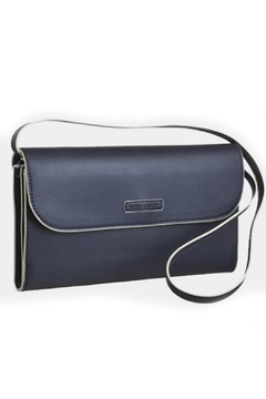 Shoptiques Product: Navy Flap Clutch