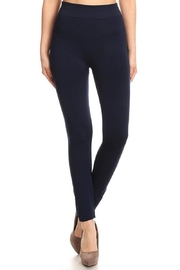 May 23 Navy Fleece Leggings - Product Mini Image