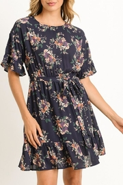 Gilli Navy Floral Dress - Product Mini Image
