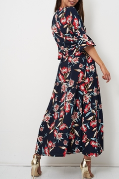 frontrow Navy Floral Dress - Alternate List Image