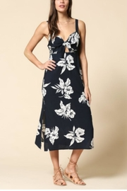 By Together Navy Floral Dress - Product Mini Image