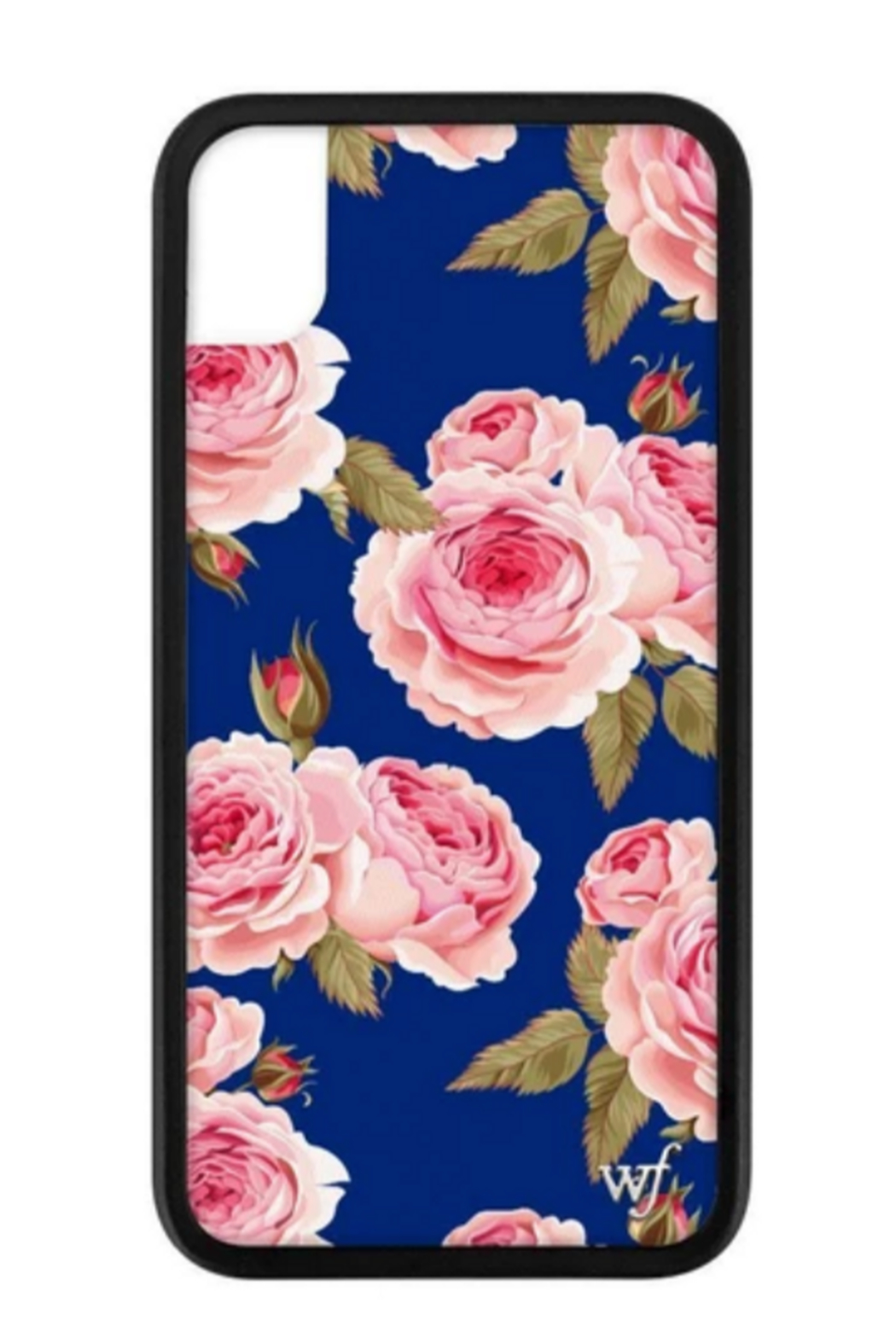 wildflower Navy Floral iPhone Xr Case - Main Image