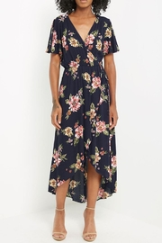 Soprano Navy Floral Maxi - Product Mini Image