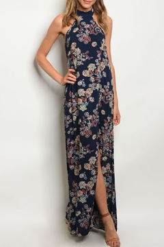 Shoptiques Product: Navy Floral Maxi
