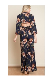 Polly & Esther Navy Floral Set - Front full body