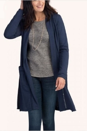 Hatley Navy Grace Cardigan - Product Mini Image