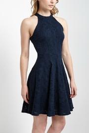 Soprano Navy Halter-Neck Dress - Product Mini Image