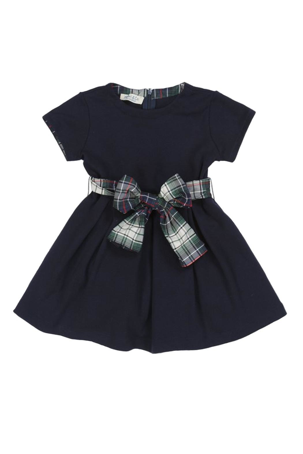 Malvi & Co. Navy Jersey Dress - Main Image
