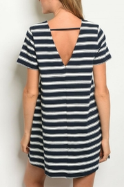 4811df3b278 LoveRiche Navy Jersey Dress from Kansas by twill tradE — Shoptiques