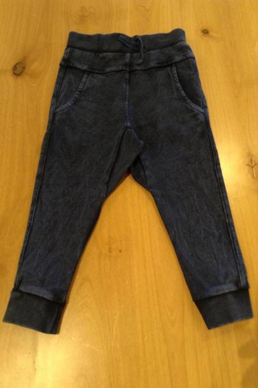Belly Button Navy Joggers - Front Cropped Image