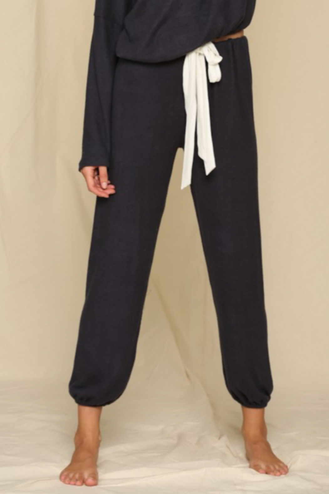 By Together  Navy Joggers - Main Image