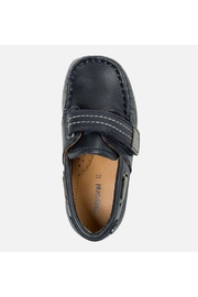 Mayoral Navy Leather Loafer - Side cropped