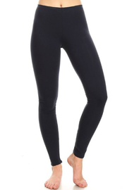 T Party Navy Long Leggings - Product Mini Image
