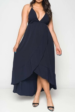 Unknown Factory Navy Maxi Dress - Product List Image
