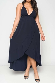 Unknown Factory Navy Maxi Dress - Product Mini Image