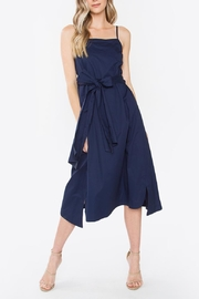 Sugarlips Navy Midi Dress - Product Mini Image