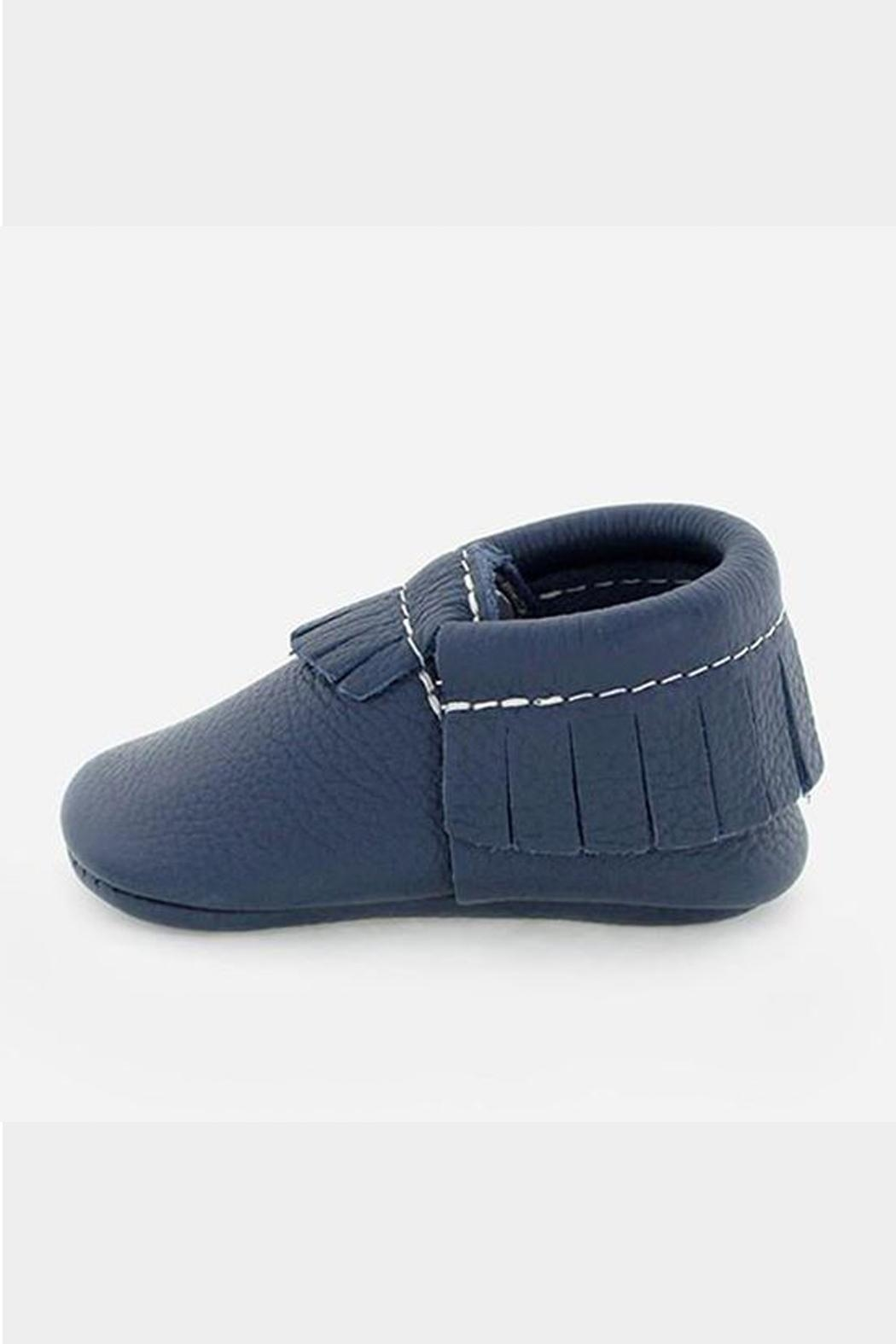 Freshly Picked Navy Moccasin - Front Full Image
