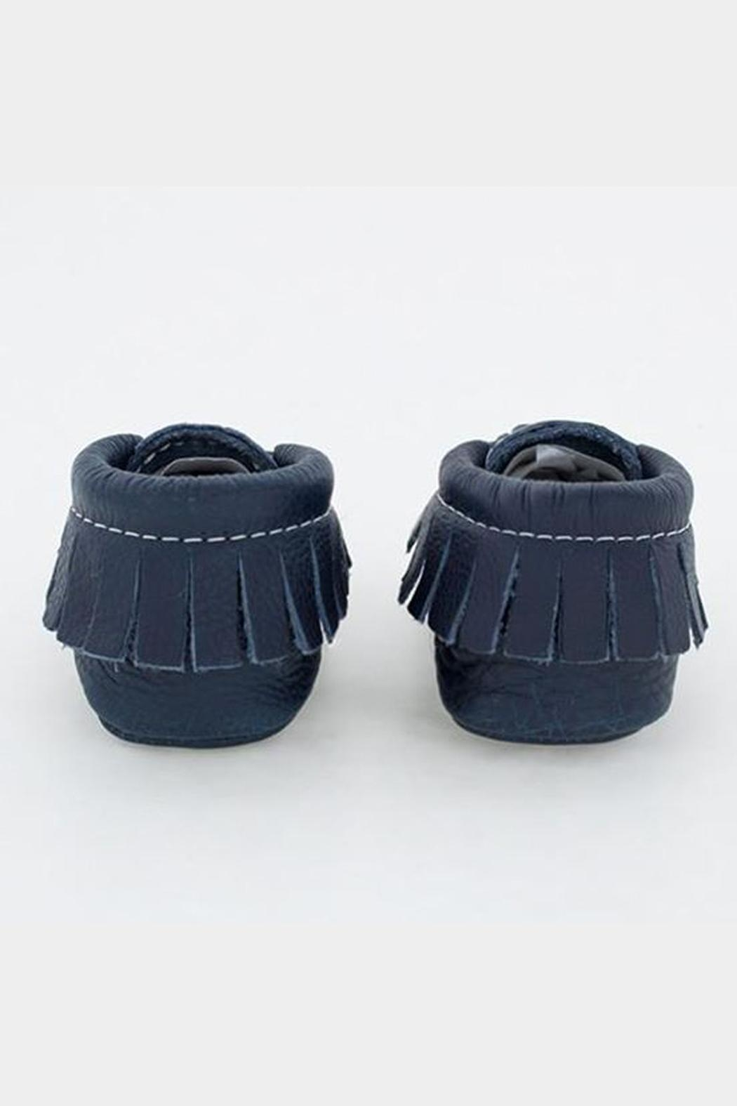 Freshly Picked Navy Moccasin - Back Cropped Image