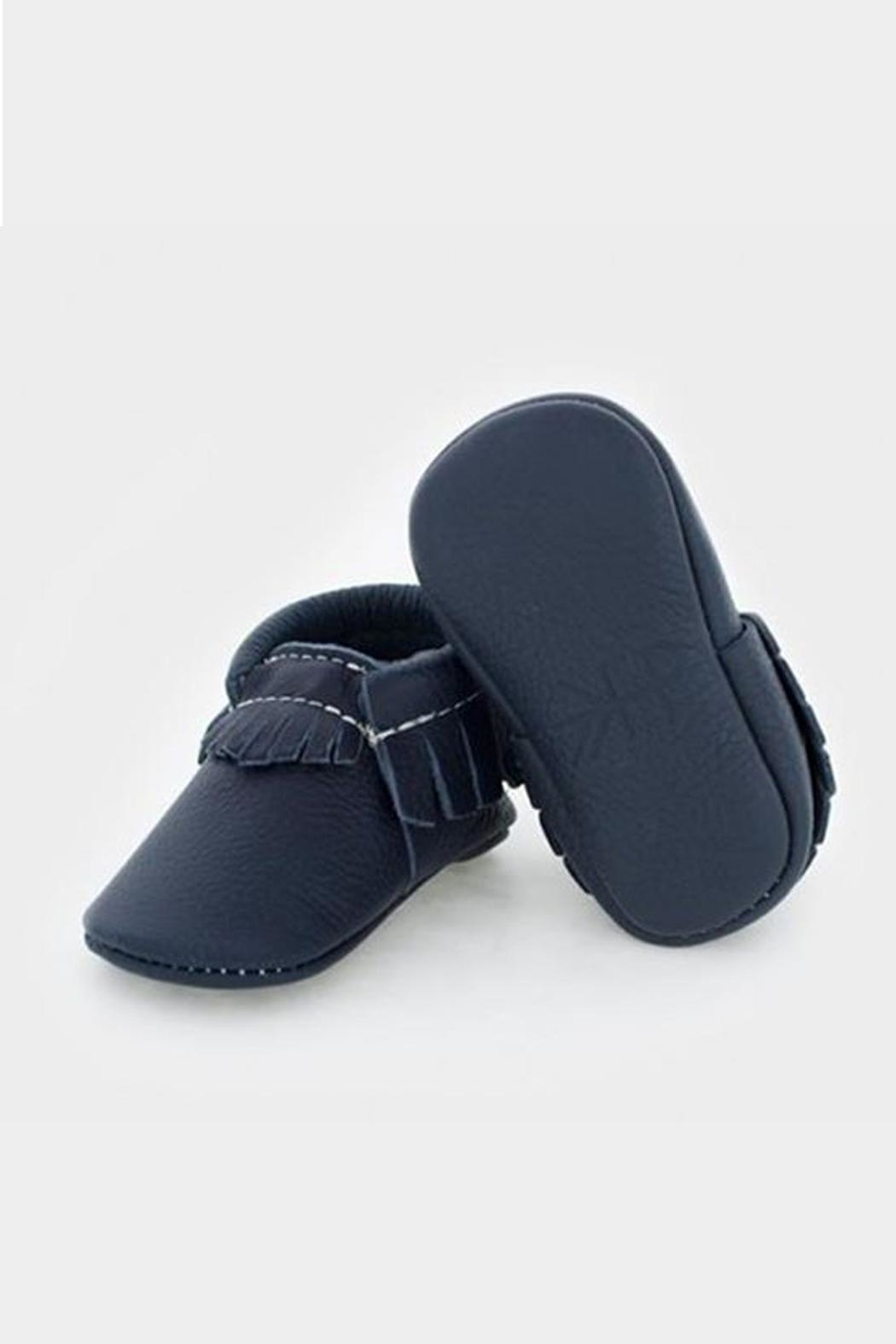 Freshly Picked Navy Moccasin - Front Cropped Image