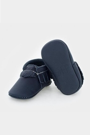 Freshly Picked Navy Moccasin - Front cropped