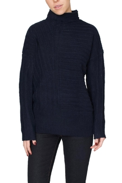 Fifth Label Navy Mockneck Sweater - Product List Image
