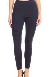 JVINI Navy Motto Jeggings - Product Mini Image