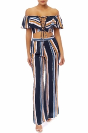 luxxel Navy Multi-Stripe Set - Product Mini Image