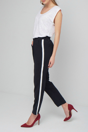 Best Mountain Navy Pant w White Side Stripe - Side cropped