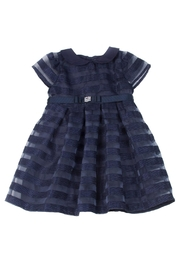 Malvi & Co. Navy Party Dress. - Front cropped
