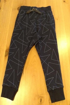 Belly Button Navy Patterend Joggers - Alternate List Image