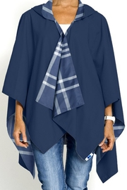 Rainraps Navy Plaid Rainrap - Front cropped