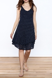 Charlie B. Navy Polka-Dot Dress - Product Mini Image